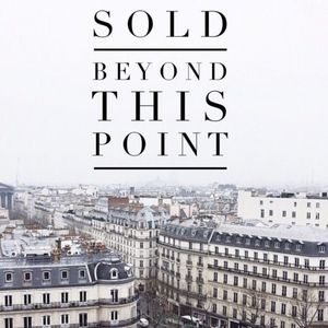 SOLD beyond here!